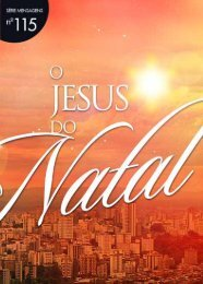 O Jesus do Natal - Lagoinha.com