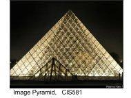Image Pyramid, CIS581