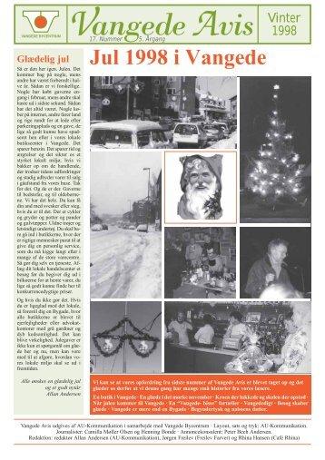 Vangede Avis nr. 17 - vinter 1998 - Vangede.dk