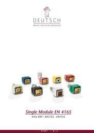 DEUTSCH Single Module - TE Connectivity