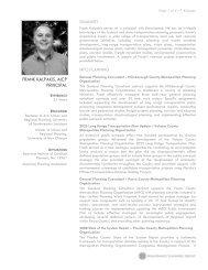 FRANK KALPAKIS, AICP - Renaissance Planning Group