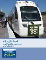 Getting On Track: - Public Interest Network