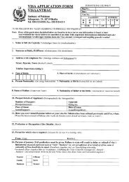 VISA APPLICATION FORM FOR OFFICIAL USE ONLY!