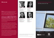 Who we are European technology lawyers - EU data ... - Nabarro