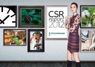 CSR report 2012 - Stockmann Group