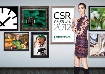 CSR report 2012 - Stockmann Group
