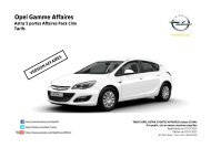 Astra Affaires - Opel