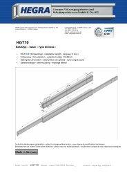 HGT70 - Hegra Linear