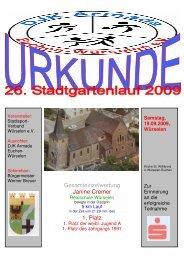 Gesamteinzelwertung Janine Cremer 1. Platz - DJK Armada Euchen ...