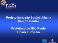 Nós do Centro - Prefeitura de São Paulo