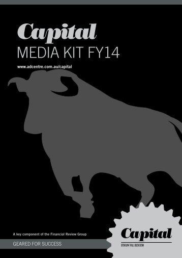 Capital magazine media kit - Fairfax Media Adcentre