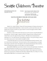 Jason and the Golden Fleece - Seattle Children's Theatre