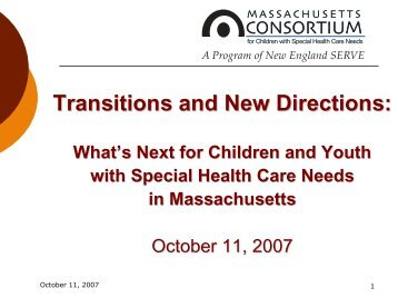 Transitions and New Directions: - New England Serve