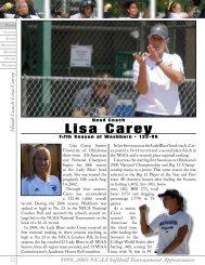Lisa Carey (Oklahoma - 2002) Fifth season