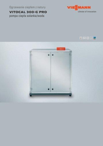 Ogrzewanie ciepłem z natury VITOCAL 300-G PRO ... - Viessmann