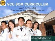 VCU School of Medicine Curriculum - Virginia Commonwealth ...
