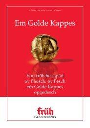 Em Golde Kappes - Cölner Hofbräu Früh