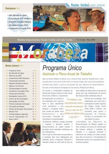 Programa Único - Nações Unidas em Cabo Verde