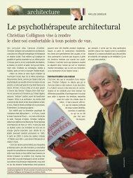 Le psychothérapeute architectural - Alchymed