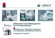 Geschaeftreisen - Buchungsplattform für Unternehmen