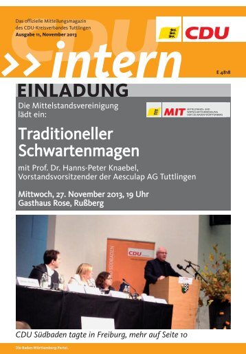 Download - CDU Kreisverband Tuttlingen