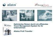 Geschäftsreisen - Buchungs-Plattform für Unternehmen - Image Tours