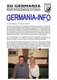 Ort - SG Germania Klein-Krotzenburg 1915 eV