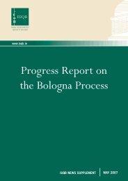 Progress Report on the Bologna Process - EURIreland.ie