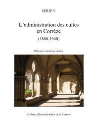 Répertoire numérique détaillé, dactylographié, 181 p., par Simon ...