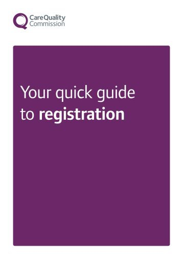 CQC - Your Quick Guide to Registration - Liverpool Local Medical ...