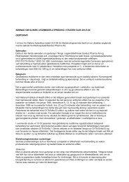 Søknad om klinisk legemiddelutprøving i studien GLIB 201-E-00 ...