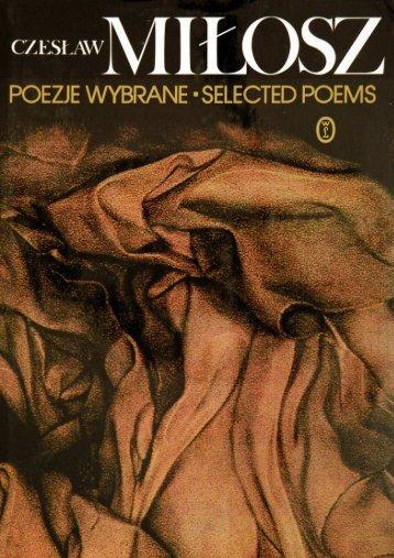 Poezje wybrane - Selected poems