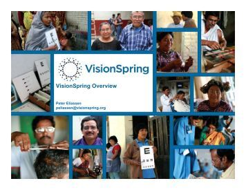 VisionSpring Overview