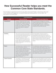 R55329 SFRD CCSS Sell Sheet.indd - Renaissance Learning