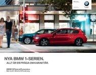 NYA BMW -SERIEN.