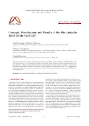 Concept, Manufacture and Results of the Microtubular Solid Oxide ...