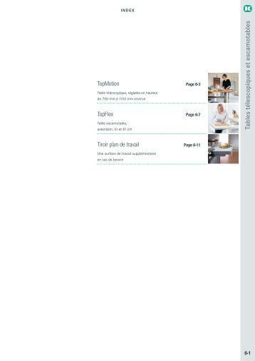 rails t lescopiques pour tables escamotables trimanis. Black Bedroom Furniture Sets. Home Design Ideas