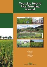 Two-Line Hybrid Rice Breeding Manual - Rice Knowledge Bank ...
