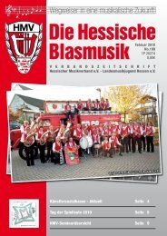 No.199 Die Hessische Blasmusik - Hessischer Musikverband