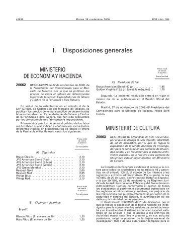 REAL DECRETO 1266/2006, de 8 de noviembre