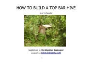 HOW TO BUILD A TOP BAR HIVE - library