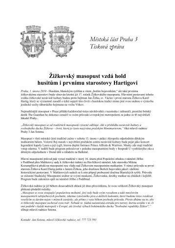 TZ Žižkovský masopust 2010 - Praha 3