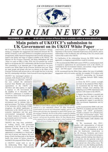 Issue 39 - UKOTCF