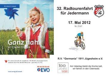 KarteRTF 2012 1 - RV Germania 1911 Jügesheim eV