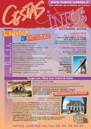 du 5 au 24 octobre 2009 - Mairie de Cestas