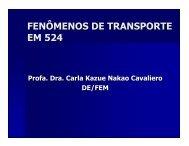 FENÔMENOS DE TRANSPORTE EM 524 - Tolstenko