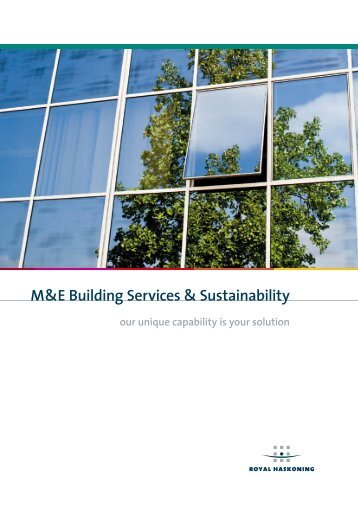M&E Building Services and Sustainability - Royal Haskoning in the UK