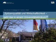 Kosteneffektivität gezielter Maßnahmen zur MRSA - Neubiberger ...
