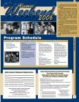 eekend Alumni 2006 - Clarion University - Page 3