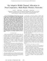 On Adaptive-Width Channel Allocation In Non-Cooperative, Multi ...